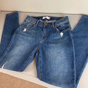 CAbi Jeans curvy skinny size 6
